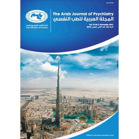 المجلة العربية للطب النفسي –  المجلد 23، العدد 2 ( نوفمبر  2012  )