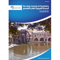 The Arab Journal of Psychiatry - tome 24, issue 2 ( November 2013 )